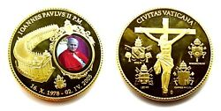 Medal Proof Vatican Pope Giovanni Paolo Ii - Ioannes Paulus Ii Pont. Max