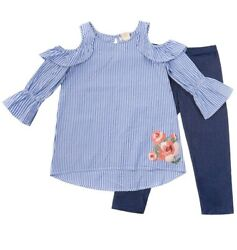 Girls clothing - Brand One Step Up Girl outfit size 1012. Very Cute!