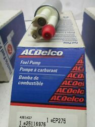 Ac Delco Ep275 Elect Fuel Pump 86-90 Dodge Chry Plym Application In Photos