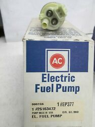 Ac Delco Ep377 Elect Fuel Pump 89-98 Chev Gmc Lt/med Trucks Application In Photo