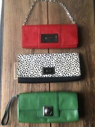 Lot Of 3 Clutch Bags From Banana Republic $25.00