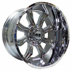 4 Four 26and039and039 Xm-323 26x14-76 Wheels Truck Chevy Gmc Suv 8 Lug Lifted Off Road