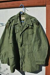 1962 Us Army Captains M51 Field Jacket - Special Forces And Hawaii - M1951 68