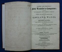 New Travellers Companion Antique Atlas 26 Maps Laurie And Whittle 1812