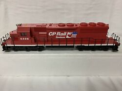✅weaver Cp Rail Sd40-2 Non-powered Diesel Engine Dummy W/ Lionel Type Couplers