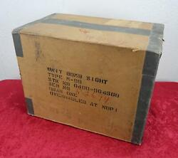Ww2 Us Army Air Force Corp Usaf Norden Bombsight Wood Crate Shipping Storage Box