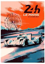 2014 24 Hours Of Le Mans Poster Art Print