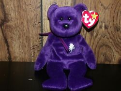 New Retired Rare Princess Diana 1997 Ty Beanie Baby Original Vintage Collection