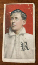 1909 T206 Piedmont Cy Barger Rochester No Name Baseball Tobacco Card