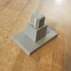 Set Of 10 - 1 Support Columns Piers For Disney Toy Monorail Track