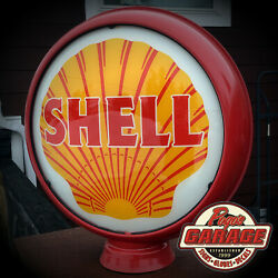 Shell Gasoline - 15 Gas Pump Globe Lenses - Offered By Pogo's Garage