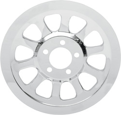 Drag Specialties 1201-0443 Chrome Outer Rear Pulley Insert