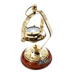 Premium Office/desk Accessory Nautical Navy/army Old / Navigation Compasses.