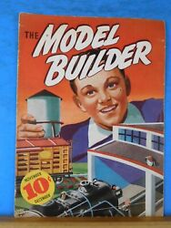 Model Builder 1937 November December Lionel Magazine How Real Railroad Are Buil