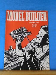 Model Builder 1944 February Lionel Magazine Steel Mill Coal Tower Track Switch C