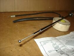 1966 66 Chevelle Super Sport Ss Nos Front Fender Radio Antenna Kit And Cable Asm
