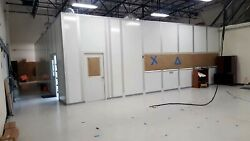 PORTAFAB 42'X38' ISO-7 CLEAN ROOM W CLEAN GOWN & STORE ROOMS