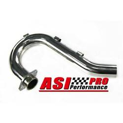 Stainless Exhaust Header Pipe For 2004 05 06 07 08 Yamaha Yfz450 Yfz 450 Usa Pro