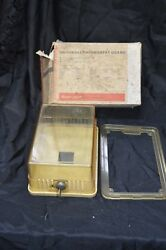 Honeywell Tg501a1010 Large Thermostat Guard Vintage Locking Cover Tg501a-1010