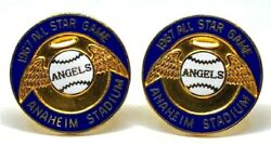 1967 Mlb All Star Game Angels Champions Championship Cufflinks Not Ring Balfour