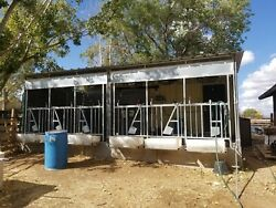 Grade A licensed Currently in Operation.6 stall flat barn 5 room plant...