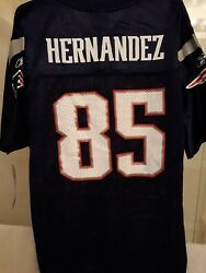 Rare Aaron Hernandez 85 Rookie Nfl Youth Jersey New England Patriots New