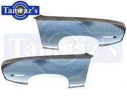 71 Plymouth Barracuda Front Fender - Goodmark Brand Name - Pair Lh And Rh