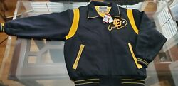 Mitchell And Ness Colorado Buffaloes '06 Insp Wool Zipper Orig 400 Size 52