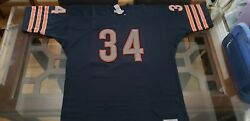 Mitchell And Ness Walter Payton Chicago Bears 1975 Jersey Orig 350 Size 54