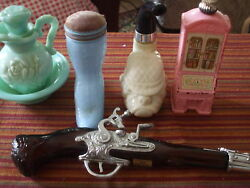 Vintage Avon 5 Perfume Bottles From The 60's And 70's Some Have Perfume In Them