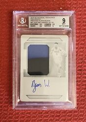2019-20 National Treasures Zion Williamson 11  ROOKIE RPA Printing Plate BGS 9