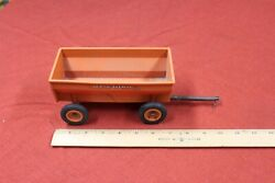Vintage Mccormick Deering Plastic Toy Trailer Old Farm Collectible Antique Toys