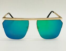 Men#x27;s Women#x27;s Sunglasses Green Mirror Lens Big Frame Celebrity Elegant Model NEW $13.98