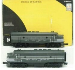 ✅k-line By Lionel Tmcc New York Central F-3 Aa Diesel Engine Set Nyc O Scale