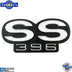 1967 67 Chevelle Ss 396 Grille Emblem Made In Usa Trim Parts 4411 New