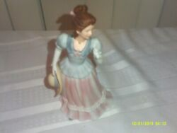 Older Porcelain Gone With Wind Style Bell Dress Woman Figure