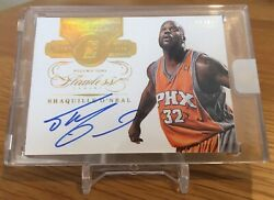 2013-14 Flawless Transitions Gold Foil Shaquille Oandrsquoneal Auto - 05/10 Rare