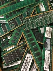 20 Lbs. Of Unshielded Scrap Memory For Gold Recovery Ram Pc2 Pc3 Mix