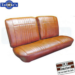 1966 Pontiac Bonneville Front Seat Covers Upholstery New Pui