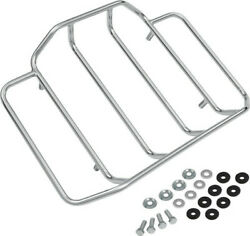 Show Chrome Accessories 91-306 Chrome Luggage Rack For Harley Tour Trunks Flh
