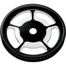 Universal Rear Cush-drive Aluminum Pulley 1in Perform Machine 0093-7268unvlbm