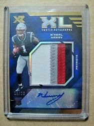 2019 Nand039keal Harry Panini Xr Rookie Blue Xl Swatch Autograph Jumbo Patch Rc /20