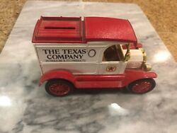 Texaco 1913 Ford Model T Delivery Van - 1 In Ertl Diecast Truck Series Rare