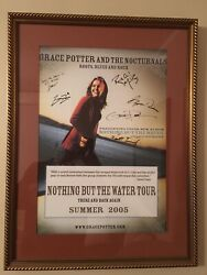 Grace Potter And The Nocturnals Nothing but the water tour poster 2005