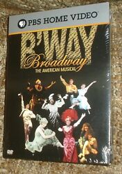 Broadway The American Musical Dvd, 2004, 3-disc Set.new And Sealed, Very Rare