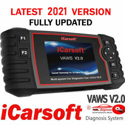 2021 Icarsoft Vaws V2 Diagnostics Fault Code Reader Service Light For Audi Skoda