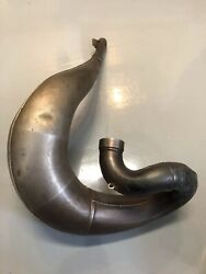 Hrc Works Team Factory Pipe Cr250 Cr 250 Exhaust