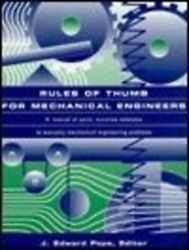 Rules Of Thumb For Mechanical Engineers, Pope, A. 9780884157908 Free Shipping,,