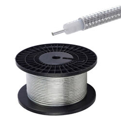 100 Feet Rg402 .141 Semi Rigid Coaxial Cable With Tinned Copper Outer Conductor