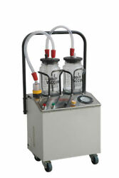 Suction Machine 1/4 Horse Power With Double Unbreakable Jars Ent And Dental